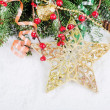 Christmas and New Year Border — Foto de Stock