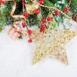 Christmas and New Year Border — Stock Photo #14823053