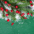 Christmas and New Year Border — Stock Photo #14823093
