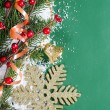 Christmas and New Year Border — Stock Photo #14823125