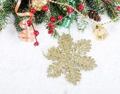 Jul och nyår gränsen — Stockfoto