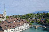 View on old town of Bern — Stock Photo