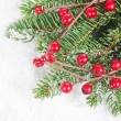 Stock Photo: Christmas and New Year Border