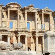 Roman Library of Celsus in Ephesus (Efes) from Roman time — 图库照片