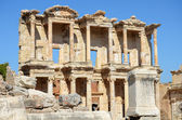 Roman Library of Celsus in Ephesus (Efes) from Roman time — Stock fotografie
