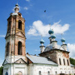Russia, Yaroslavl Region. The church in the village - Foto Stock