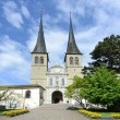 Luzerne - Hofkirche cathedral, Switzerland - Stock Photo