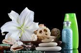 Set für massage und peeling - spa-verfahren — Stockfoto
