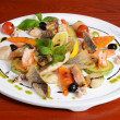 Allsorts from fish and seafood. restaurant dish — Stock Photo #22552187