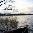 Stock Photo: Lake in spring not sunset