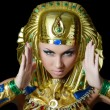 The girl-dancer in a costume of the Pharaoh — Stock Photo #32958963