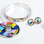 Jewellery. Pendant, bracelet, earrings, ring — Stock Photo #32959149