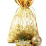 The christmas tree ornaments isolated — Stock Photo