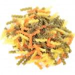 Raw colored pasta fusilli — Stock Photo #41005655