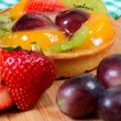 Stock Photo: Cake from shortcake dough with fruit