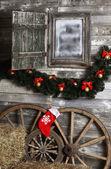рождественское отделение — Стоковое фото