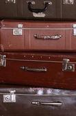 Vecchie valigie — Foto Stock
