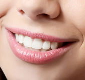Healthy woman teeth and smile — Stock Photo