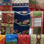 ������, ������: Rug fabric at market