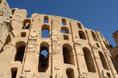 Amphitheater in El Jem — Stock Photo