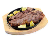 Mutton steak — Stock Photo