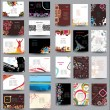Mix Collection vertical and horizontal posters - Image vectorielle