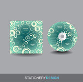 Portada del cd — Vector de stock