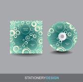Portada del cd — Vector de stock