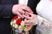 Bague de mariage — Photo