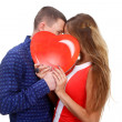 Love and heart concep — Stock Photo