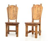 Wooden old chair — Stock Photo