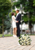 Düğün buket — Stok fotoğraf