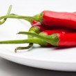 Red chili peppers — Stock Photo #11077129