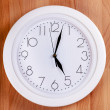 Stock Photo: Clock on a wall