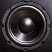 Bass speaker — Stock Photo