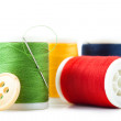 Stock Photo: Thread spools