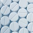 Stockfoto: White pills