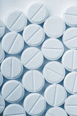 Witte pillen — Stockfoto