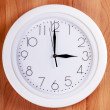 Clock on a wall — Stock Photo