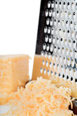 Grated cheese — Foto de Stock