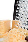 Strouhaný sýr — Stock fotografie