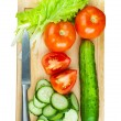 Cutting board — Stockfoto #16645873