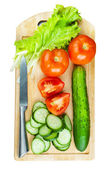 Cutting board — Stockfoto