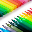 Felt tip pens - Stock Photo