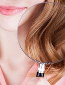 Saç sağlığı — Stok fotoğraf