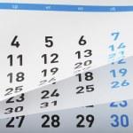 Calendar — Stock Photo #20148313