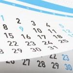 Calendar — Stock Photo #20148321