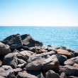 Rocks on the coast — Stockfoto