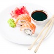 Sushi on a plate — Stock Photo #23585821