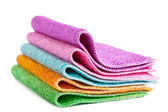 Cleaning rags — Stock Photo